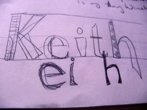 Keith design the first