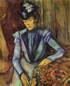 Lady in Blue, 1899