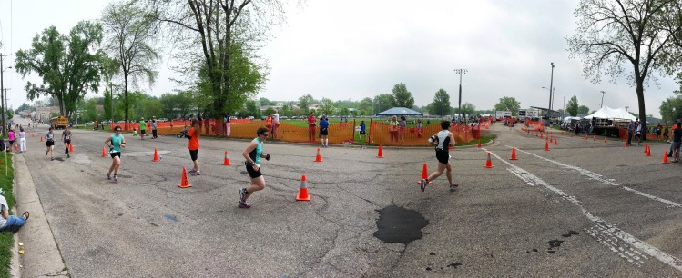 Bryan took this awesome series of me finishing the race.